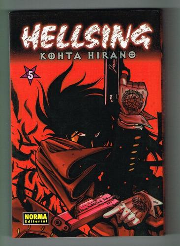 hellsing - tomo 5 - editorial norma