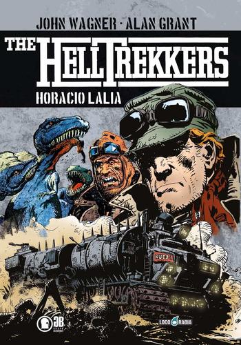 helltrekkers - horacio lalia - john wagner - alan grant
