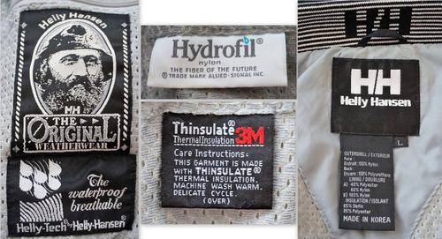 helly hansen equipe ski hydrofil nylon thermal insulation 3m