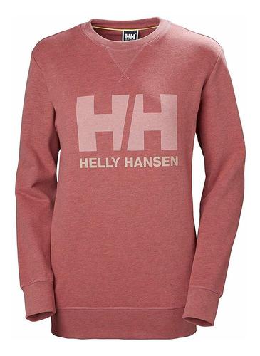 helly hansen w hh logo crew sweat