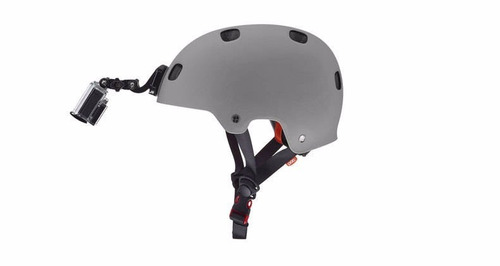 helmet front mount j gopro montura frontal casco sólo buckle