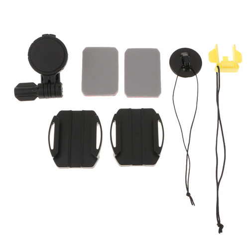 helmet side curved mount kit for sony action camera vct-hsm1