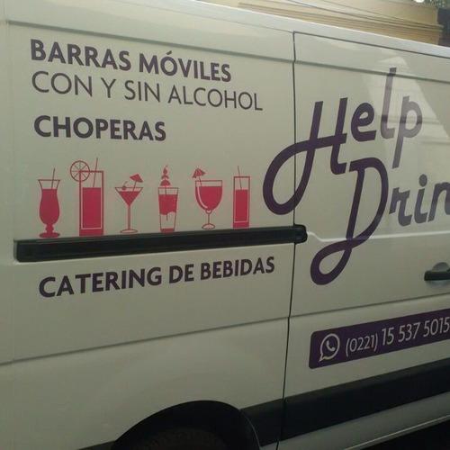 help drink, servicio de barras móviles- choperas- barmans
