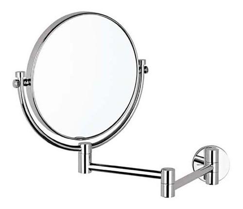 helvex espejo con aumento cromo es001