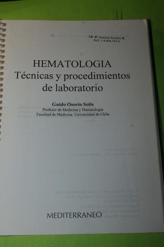 hematologia  guido osorio solis