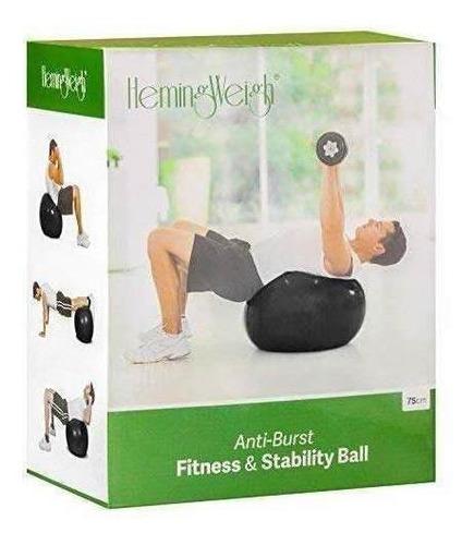 hemingweigh fuerza estática ejercicio estabilidad bola...