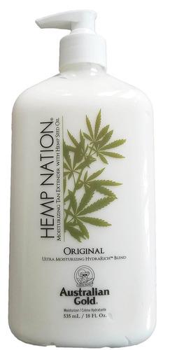 hemp nation original moisturizer tan extender 18 oz