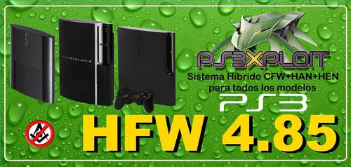 hen o cfw  ps3 todos los modelos y versiones + 5 juegos free