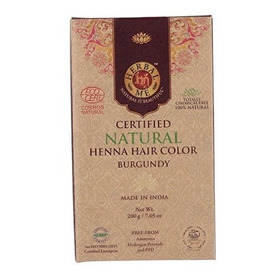 Henna Borgonha 200g Burgundy Certificada Eco Cert