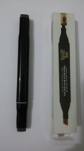 henna egipcia caneta  para sobrancelha e olhos 24 unidades