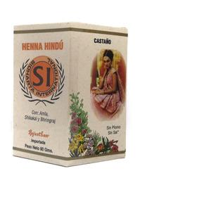 Henna Hindú Diversos Tonos De 80 G - R - kg a $244
