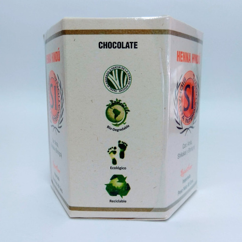 henna hindú tinte natural chocolate 80gr