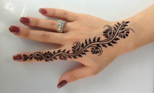 Henna Tattoo Hand Amazon