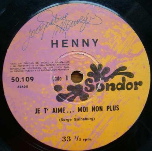 henny - danny lencina simple sondor en vinilo