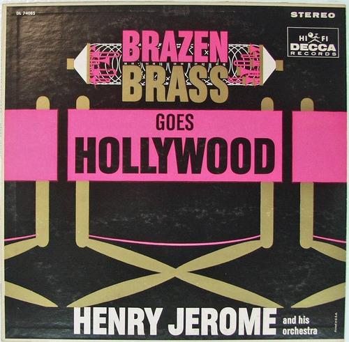 henry jerome - lp metais em brasa em hollywood (imp)* smusic
