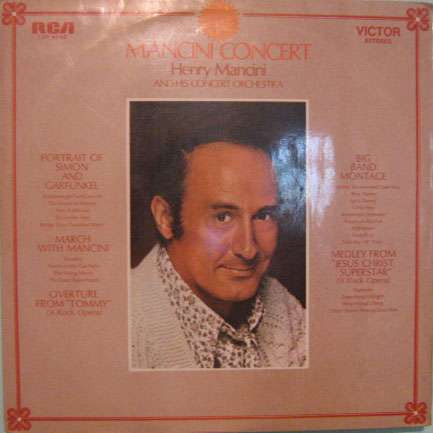 henry mancini and his concert orchestra - mancini concert