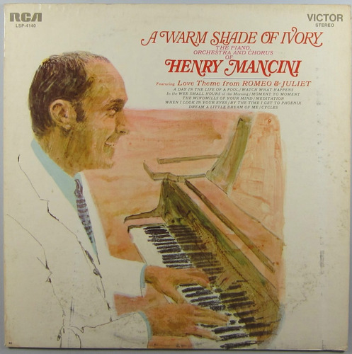 henry mancini - lp a warm shade of ivory (1969) (imp. stereo