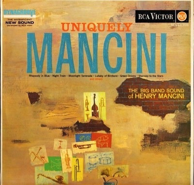 henry mancini - lp uniquely mancini (1963) - stereo
