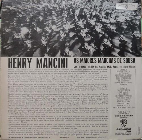 henry mancini sua orquestra sousa's greatest marches  lp