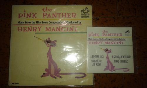 henry mancini the pink panther disco lp acetatos 33 y 45 rpm