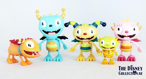 henry monstruito pack de 5 personajes 5009