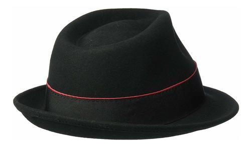 henschel para hombre 100% fieltro de lana fedora con band