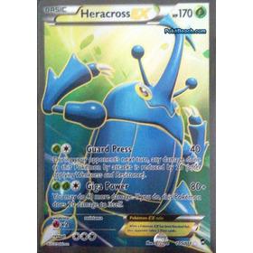 Heracross Ex Full Art 105/111 - Ultra Rare Xy Furious Fists