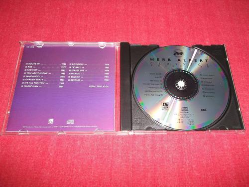herb alpert - classics vol.20 cd imp 1990 mdisk