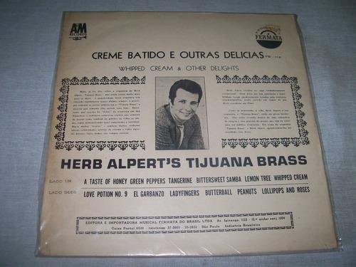 herb alpert's tijuana brass - lp vinil whipped cream & other