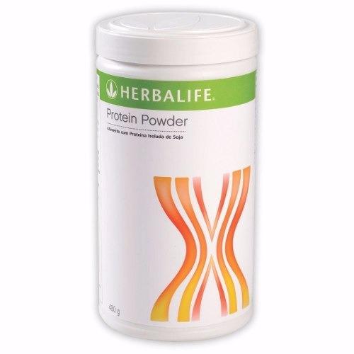 herbalife - kit seca barriga - chá 50g, proteína 480g fiber
