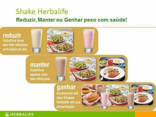 herbalife shake 550g - todos os sabores - produto original