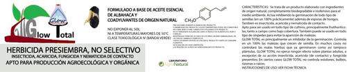 herbicida presiembra de origen natural