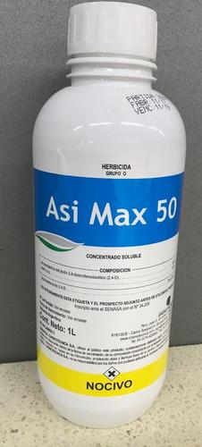 herbicida selectivo (2,4 d)  asi max 50 x 1 litro