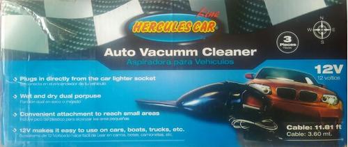 hercules car aspiradora seco humedo 12v