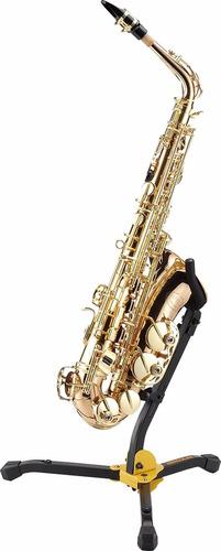 hercules ds530bb soporte para saxo alto o tenor con funda 6p