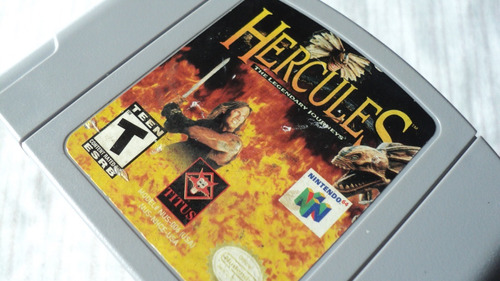 hercules the legendary journeys cartucho para nintendo 64