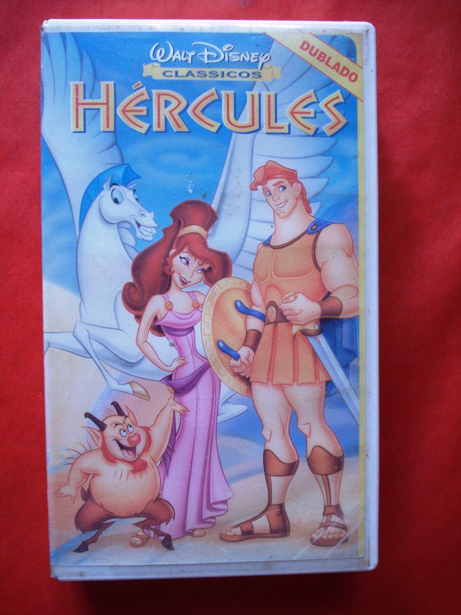 Hercules walt disney vhs r 49 00 em mercado livre - Hercule walt disney ...