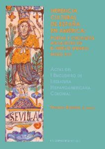 herencia cultural de españa en america(libro )