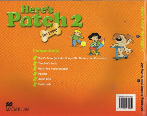 here's patch 2 the puppy includes cd stickers press outs