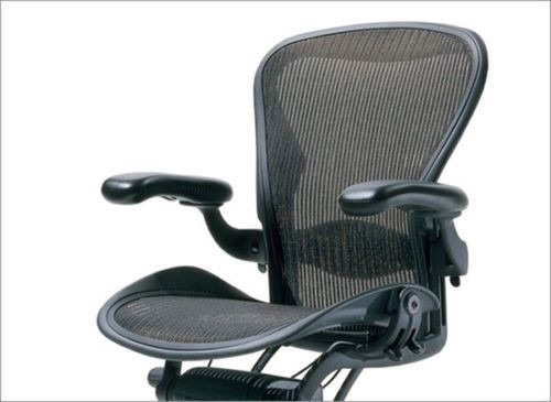 herman miller aeron silla de trabajo ajustable u s 1 en mercado libre. Black Bedroom Furniture Sets. Home Design Ideas