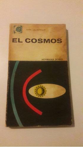 hermann bondi el cosmos tiene algunas páginas con marcas