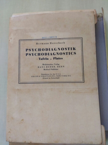 hermann rorschach psychodiagnostics psicologia