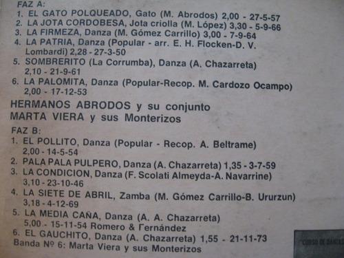 hermanos abrodos, marta viera - curso de danzas argentinas 3