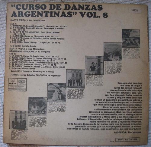 hermanos abrodos, marta viera - curso de danzas argentinas 8