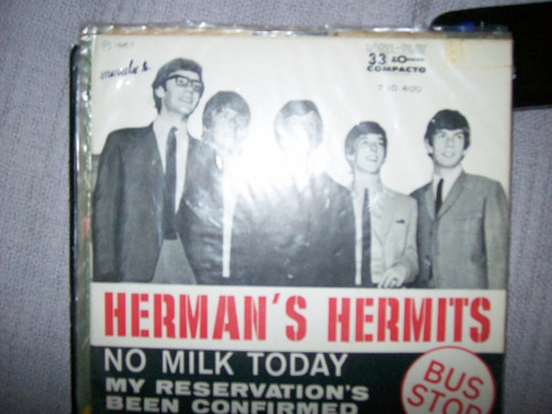 **herman's hermits**   **no milk today**