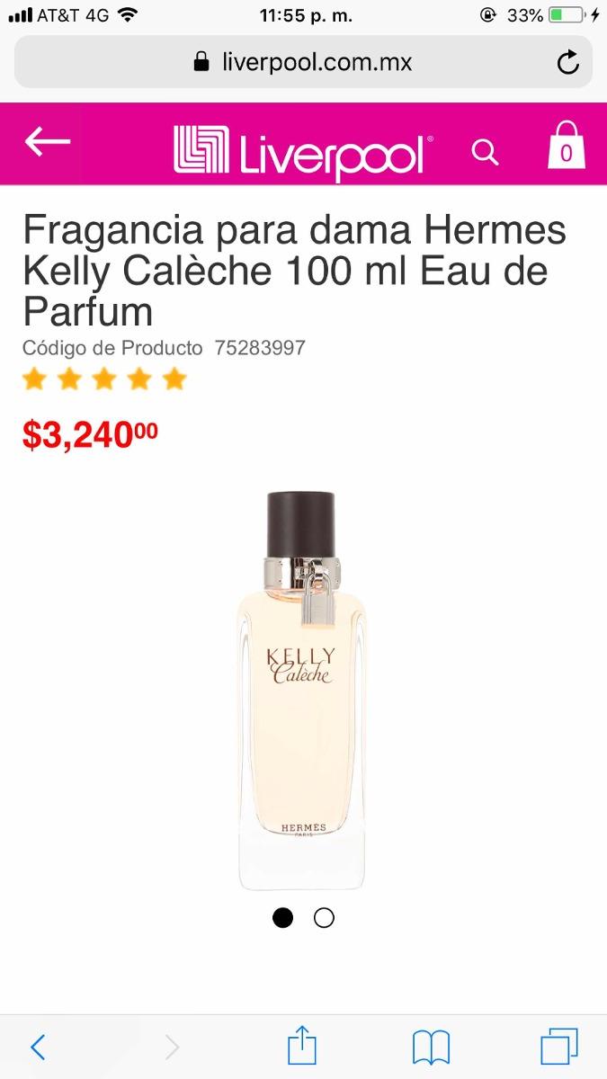 Herms Kelly Calche 130000 En Mercado Libre Hermes Caleche For Women Edp 100ml Cargando Zoom