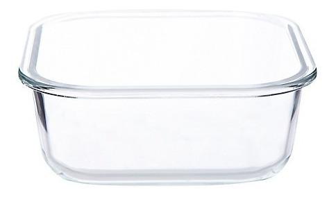 hermetico cuadrado pyrex vidrio 800ml easy vent tapa c traba