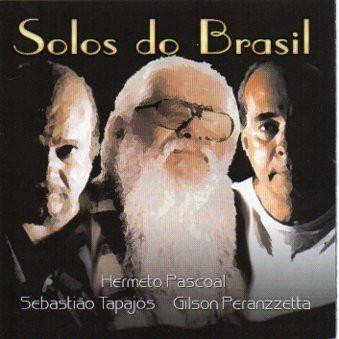 hermeto, tapajós & peranzzetta - solos do brasil - cd - novo