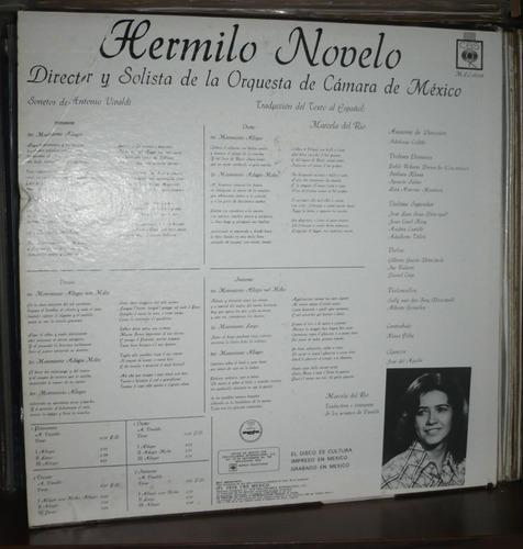 hermilio novelo lp las 4 estaciones musica y poesia