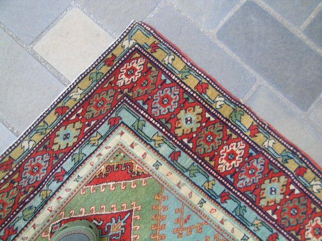Hermosa autentica y antigua alfombra persa gran colorido for Alfombras persas precios mercado libre